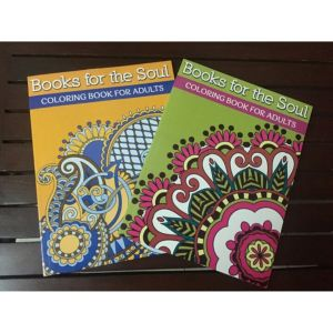 Coloring books for adults from Bookware